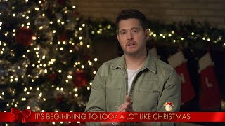 Michael Bublé Sings 'It's Beginning To Look A Lot Like Christmas' - The Disney Holiday Singalong