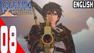 Valkyria Revolution - Walkthrough Part 08 - Chapter 7 Dark Cloud Rising -English- No Commentary