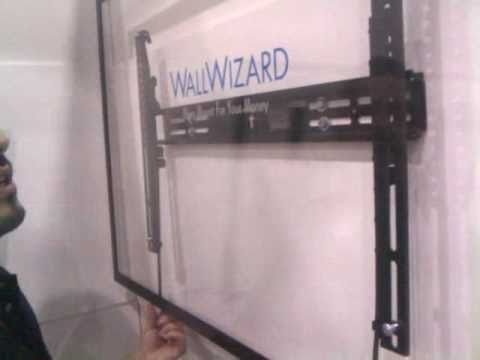 Wall Wizard Non Motorized Tv Mounts At Ces