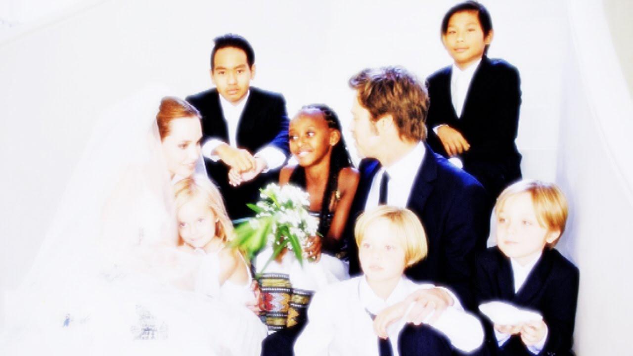 angelina jolie wedding kids - photo #25