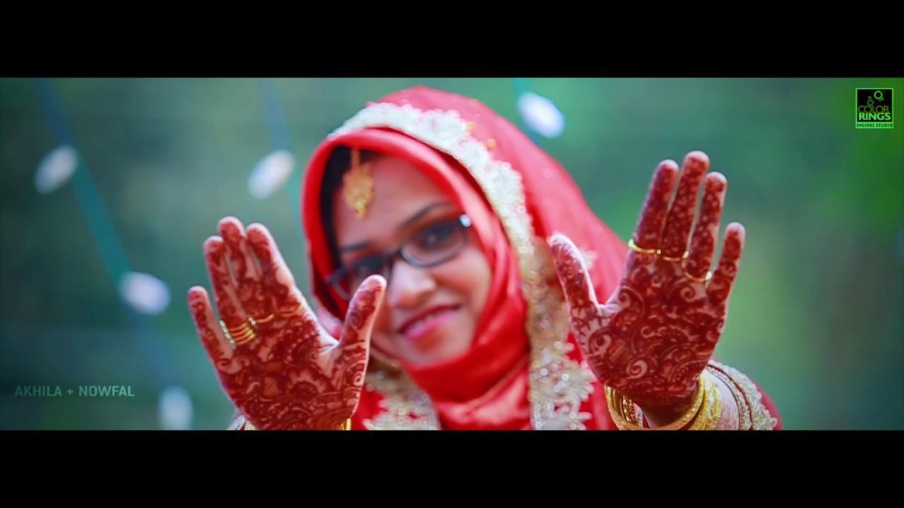 Kerala wedding photos muslim wedding photos wedding kerala wedding - Kerala Muslim Wedding Teaser 2017 Akhila Nowfal Nikah Teaser Full Hd Youtube