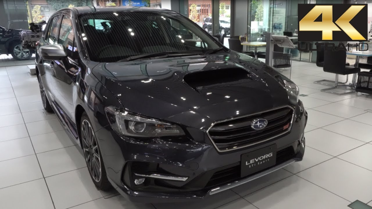 Subaru Eyesight Video >> 2019 NEW Subaru Levorg 2.0 STI Sport EyeSight - 新型スバル ...