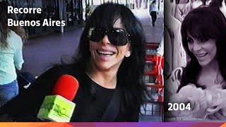 Verónica Castro recorre Buenos Aires - 2004