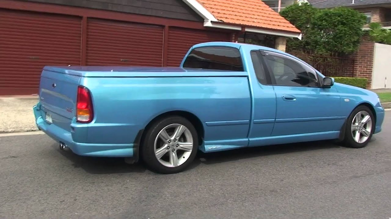 ford falcon xr6 turbo ute youtube. Black Bedroom Furniture Sets. Home Design Ideas