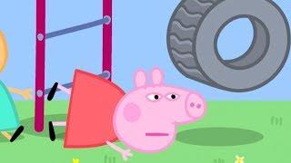 Peppa Pig in Hindi - Khel ka Maidan - हिंदी Kahaniya - Clips - Hindi Cartoons for Kids