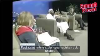adakah tuhan mati disalib shabir ally vs jay smith subtitle bm