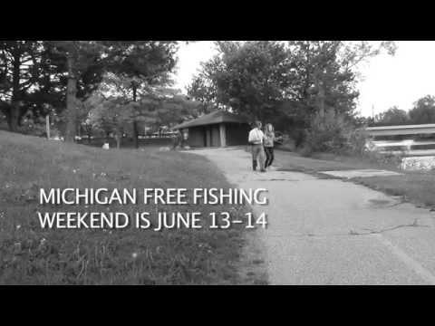 Rep. Dan Lauwers Free Fishing Weekend Reminder.