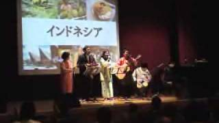 Aceh Charity Concert PPI Chiba 06/13 PPI CHIBA INDONESIA FOLK SONGS