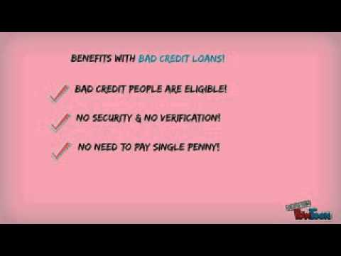 Get Loan Approval Instantly With Bad Credit!