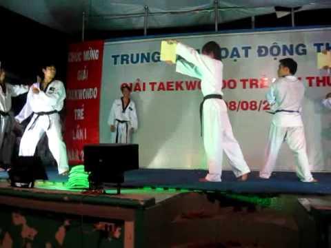 Bdu Taekwondo Biểu Diễn Võ nhạc