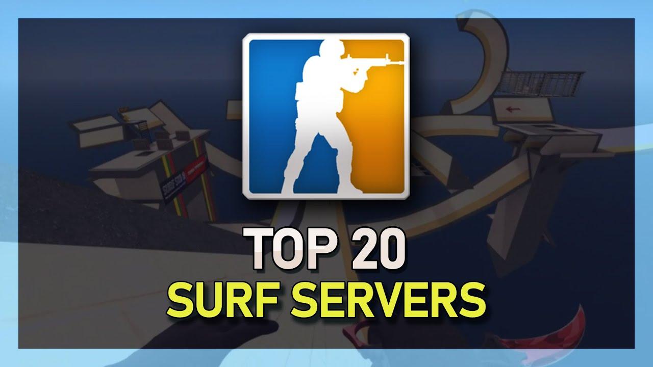 Top 20 SURF Beginner Servers! CS:GO (IP's in Description)
