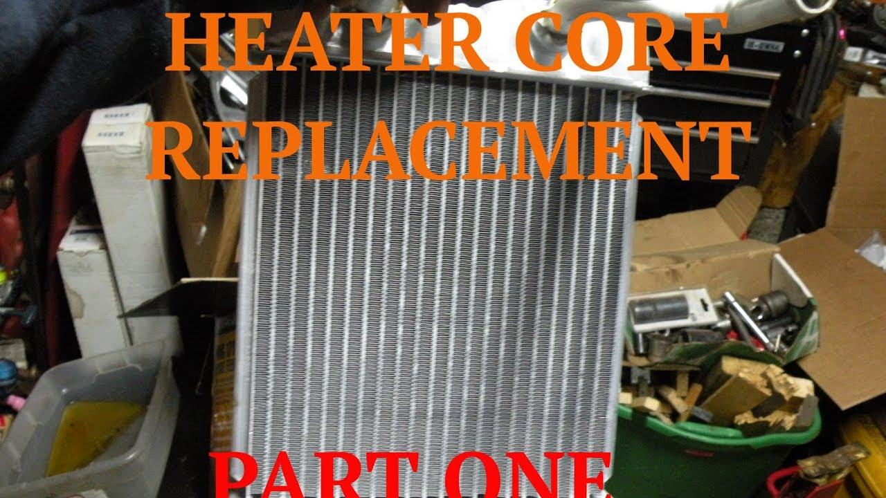 2017 Chevy Blazer >> Part 1 - Heater Core Replacement - 98 Chevy Blazer - YouTube