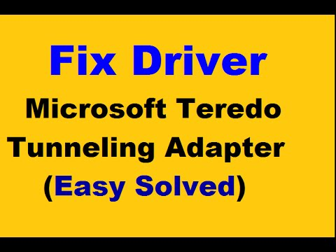 Microsoft teredo tunneling adapter driver download windows 8 64 bit