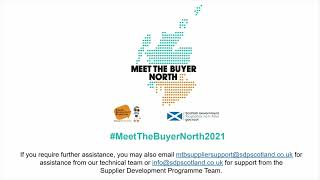 Meet the Buyer North - Supplier Experience