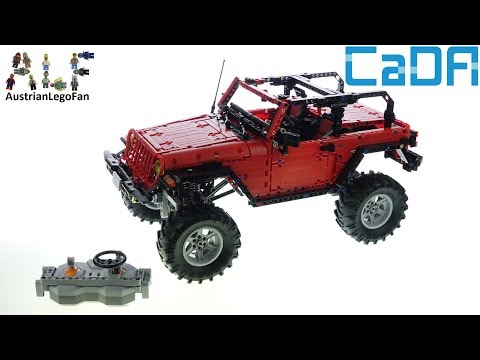 CaDa Bricks C61006 RC Adventure Off Roader - Speed Build Review Of A LEGO Technic Alternative