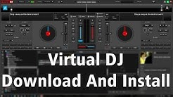 How To Free Download & Install Virtual DJ 8 On Window |  - Madan verma