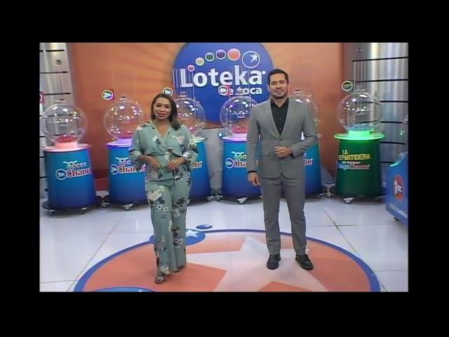 Loteka Lotería Electrónica Sorteo 07:55 PM 06-06-2021