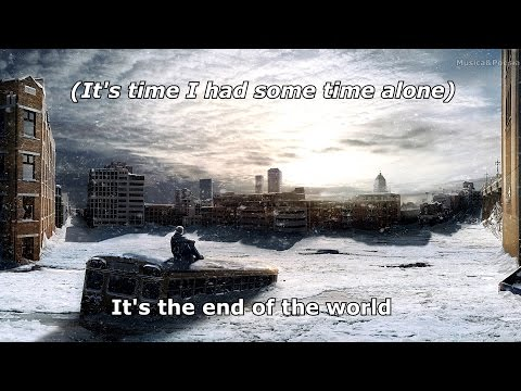 REM - Its the End of the World Lyrics