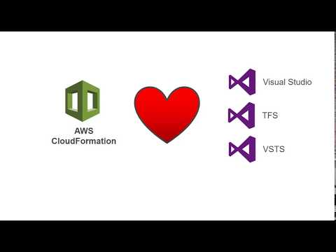 How to Integrate AWS Cloudformation with Microsoft Team Foundation Server (TFS)