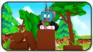 Becoming A LumberJack - Roblox Woodcutting Simulator