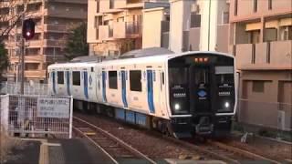 【平成最後の新車】 蓄電池電車 福岡市内に BEC819系300番台