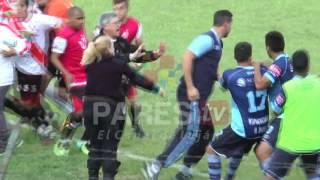 Incidentes en Luján vs San Telmo por PAREStv