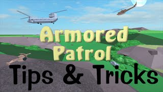 ROBLOX - Armored Patrol Tips and Tricks - (Live Commentary)