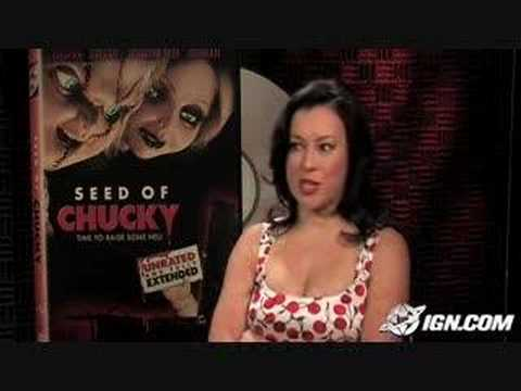 Jennifer Tilly Seed of Chucky interview #2