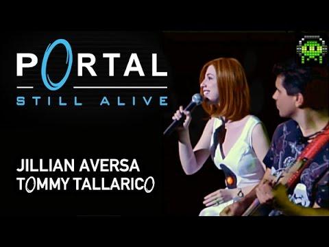 """Portal - """"Still Alive"""" - Video Games Live (VGL) - Jillian Aversa & Tommy Tallarico"""