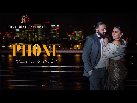 Simaran & Prithvi Pre wedding I Mickey Singh Phone
