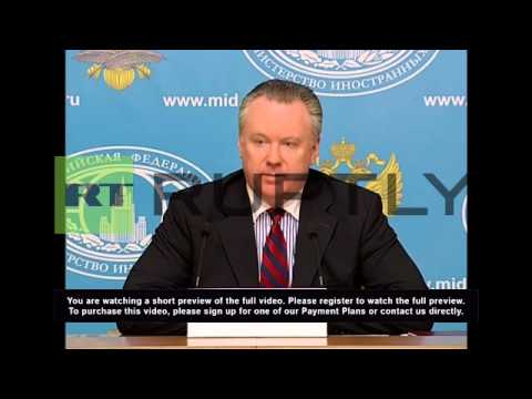 Russia: 'Kiev's barbaric punitive operation confirmed by HRW data,' says Lukashevich