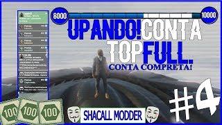 GTA V PC UPANDO CONTA - MOD MENU PC - CONTA DE CLIENTE #4