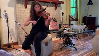On the Road Again by Willie Nelson | Brenna Wheeler | Violin Looping Cover with Pedal