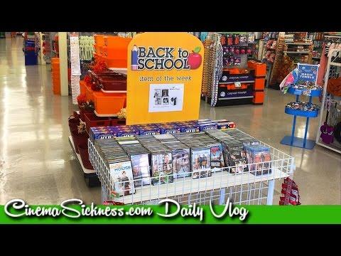 CS (09/09/16) - New Dollar Tree DVDs & BDs