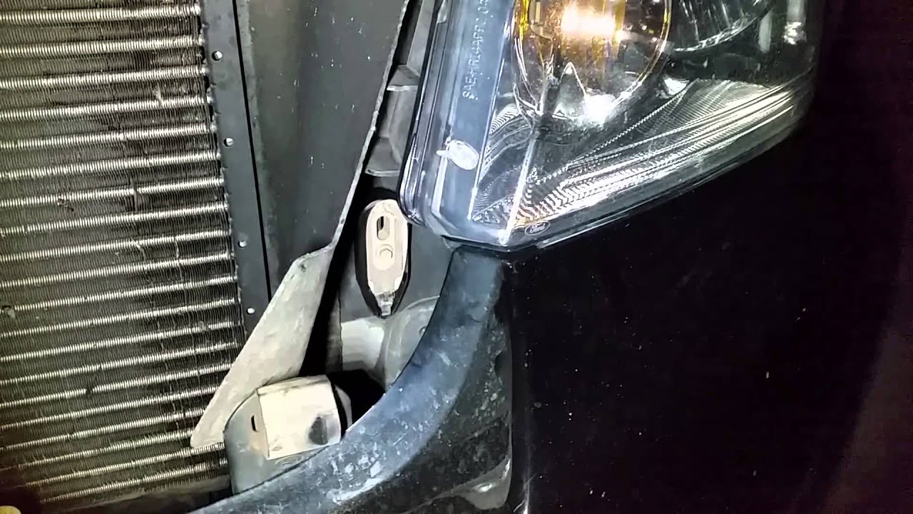 2001 Ford F150 Headlight Wiring Diagram Electromechanical Relay 2008 Daytime Running Light Disable Drl - Youtube