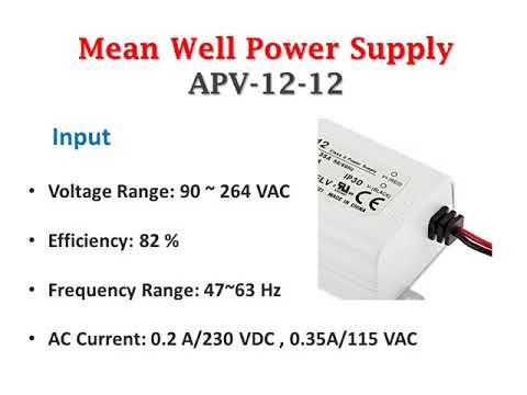 Meanwell APV-12-12 Single