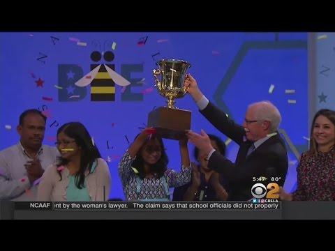 Fresno Girl Wins National Spelling Bee