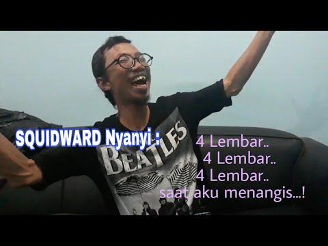 SQUIDWARD Nyanyi Tisu 4 Lembar, asli dari Dubbernya Indonesia.