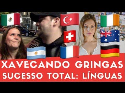 Xavecando Gringas: Sucesso Total Com Línguas? Gabriel Poliglota Feat Lina Vasquez
