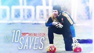 Petr Cech - Top 10 Saves 2015/16