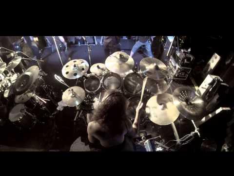 TESSERACT - Singularity / Nocturne Drumcam - Live in Strasbourg 27.10.2014