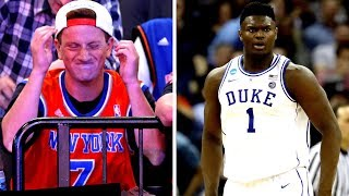 Knicks Fans REACT To Not Getting The #1 Pick
