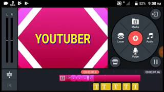 Kinemaster intro / kinemaster pink intro animation text free intro ( techgurumama)
