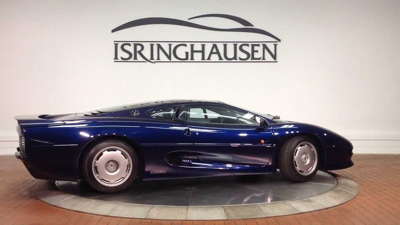 1994 Jaguar XJ220  YouTube