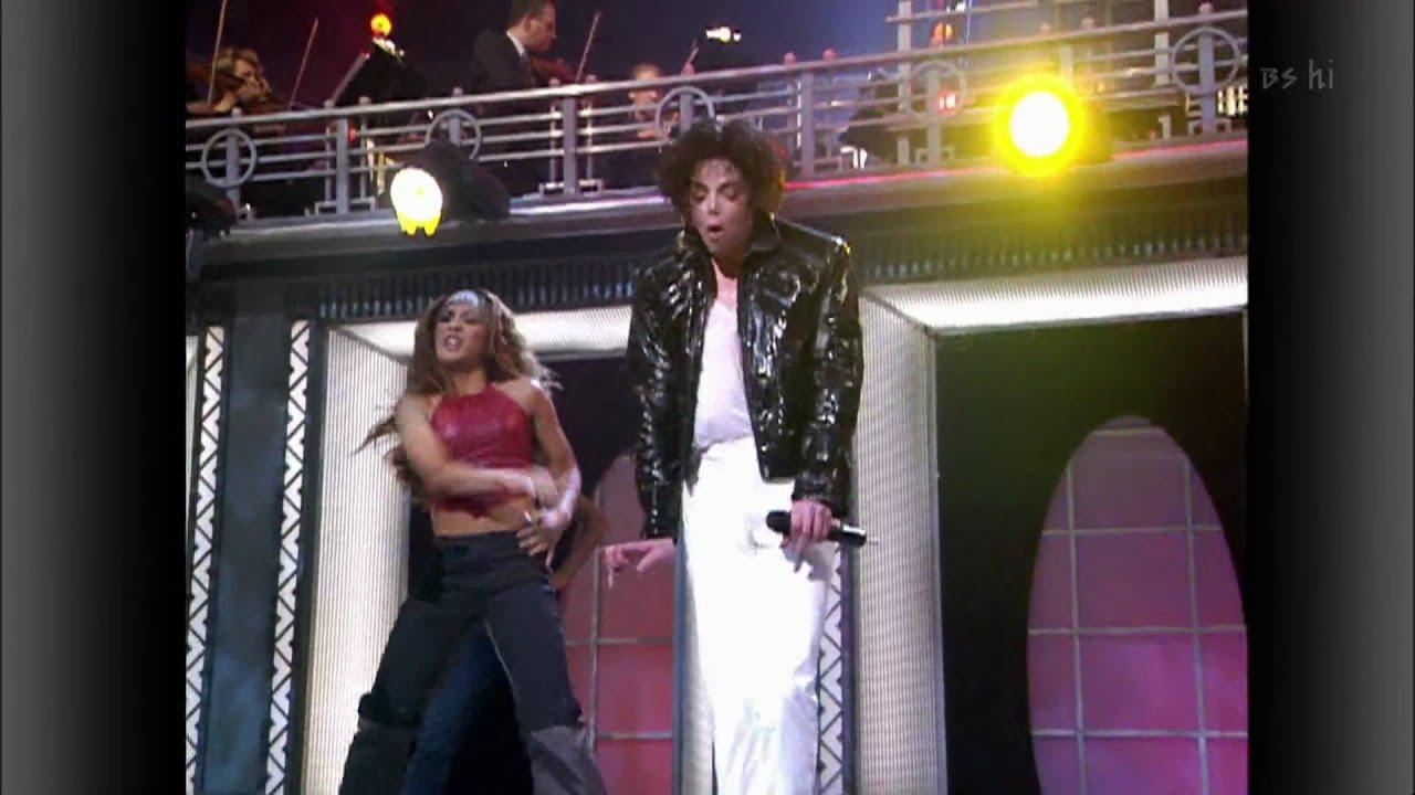 Download Michael Jackson ft Usher ft Chris Tucker - You Rock My World LIVE HD