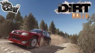 Dirt Rally Gameplay - Logitech G27 60FPS