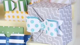Diy Gift Boxes Tutorial Using 123 Punch Board Party Collection