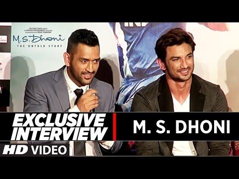 M.S Dhoni Full Interview | M.S.Dhoni - The...