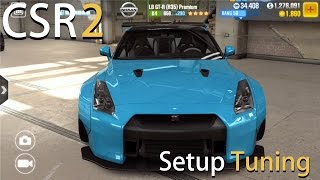 [CSR 2 LB GT R R35 1/4 Mile Setup Tuning] Let's Play CSR Racing 2 iOS Gameplay [1080p / FullHD]