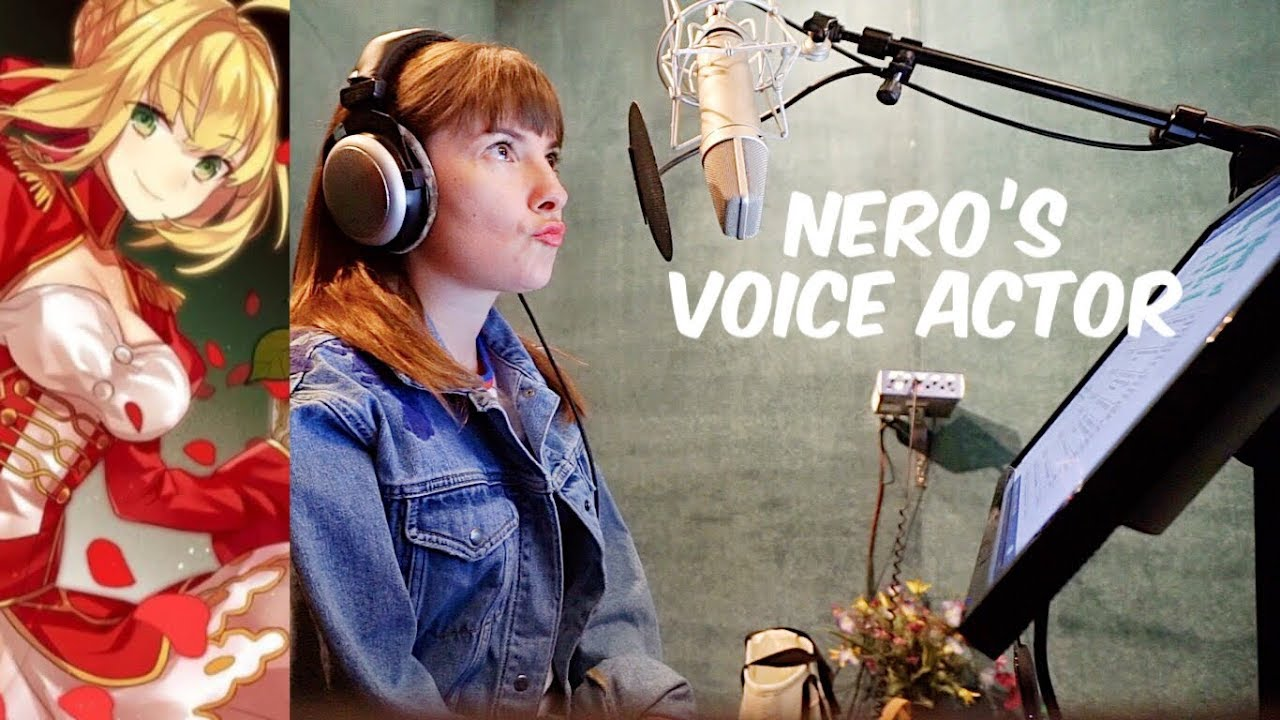 Fate Extra: Last Encore Official Recording Session for Nero (SABER!)